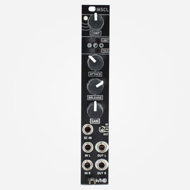 WMD MSCL Eurorack Stereo Compressor (Black Panel)