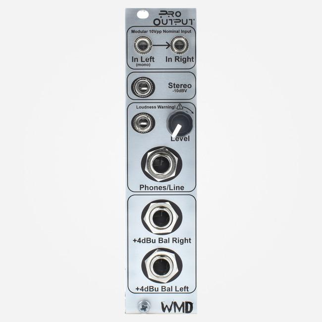 WMD Pro Output (Silver) Eurorack Balanced Output Module