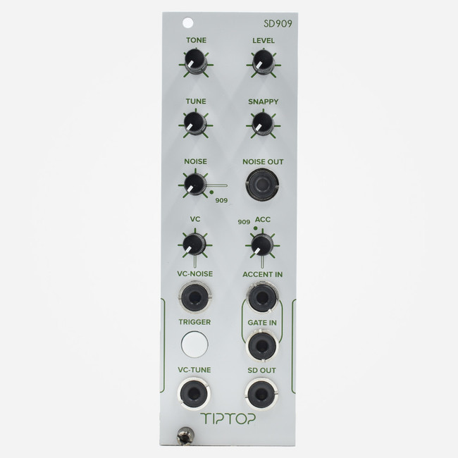 Tip Top Audio SD909 WHITE Eurorack TR-909 Snare Drum Clone Percussion Module