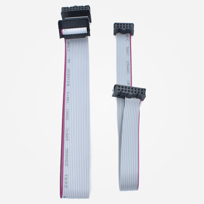 10 to 16 pin and 16 to 16 pin eurorack ribbon power cables
