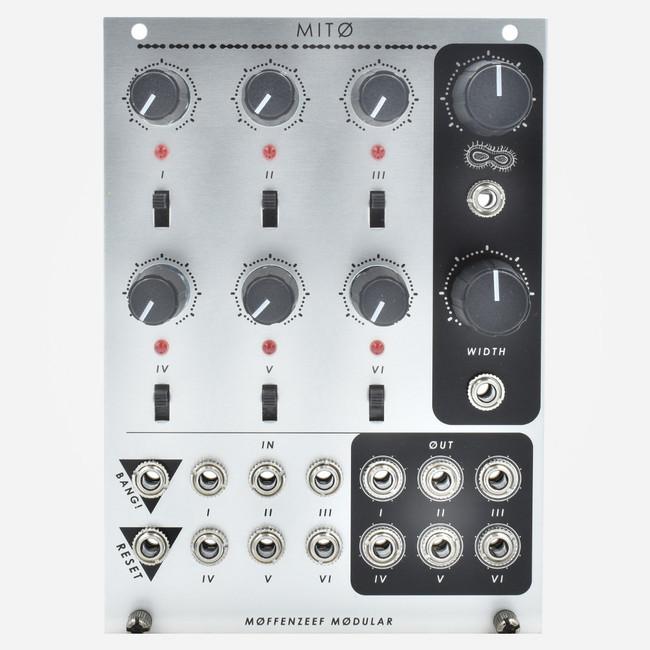 Moffenzeef Modular MITO Eurorack Clock Divider Gate Generator Module