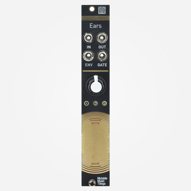 Mutable Instruments Ears Eurorack Contact Mic and External Input Module