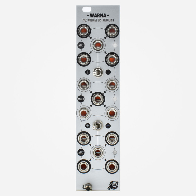 Xaoc Devices WARNA Eurorack Mult and Unity Mixer Module