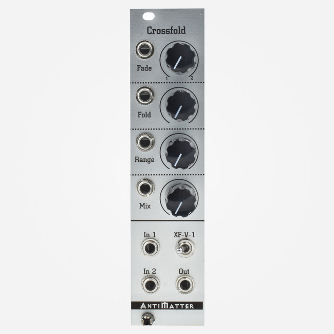 Antimatter Audio Crossfold Wavefolder and Crossfader Eurorack Module