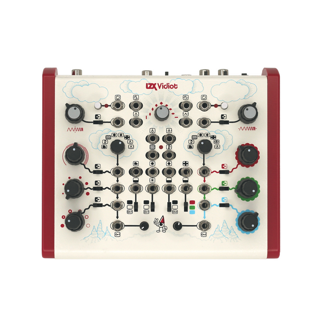 LZX Industries VIDIOT Semi-Modular Analog Video Synthesizer FRONT