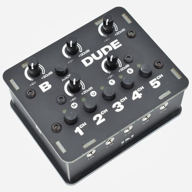 Bastl Instruments DUDE Compact Mixer (BLACK)