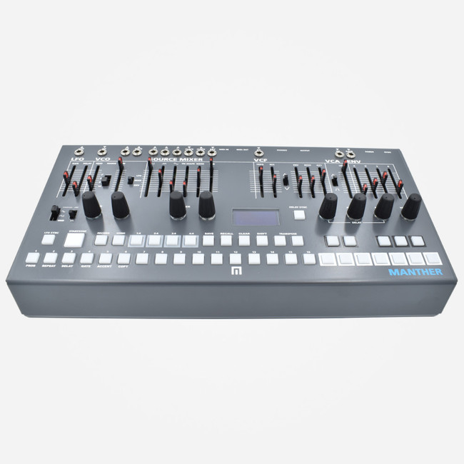 Malekko MANTHER Semi Modular Analog Synthesizer and Sequencer
