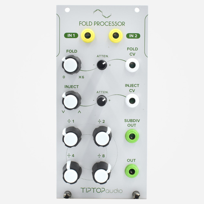 Tip Audio FOLD PROCESSOR Eurorack Wavefolder and Subharmonic Generator