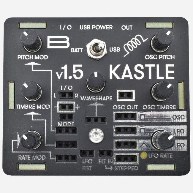 Bastl Instruments KASTLE 1.5 Battery Powered Semi-Modular Synthesizer