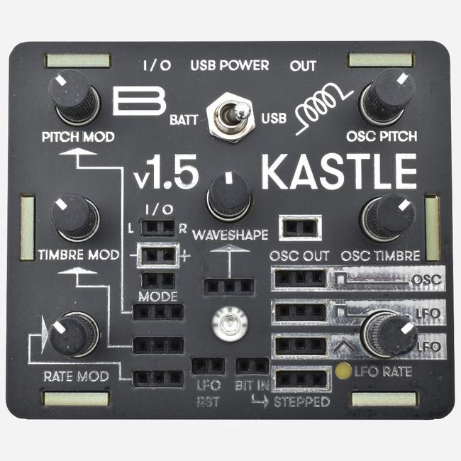 Bastl Instruments KASTLE 1.5 Battery Powered Semi-Modular Synthesizer