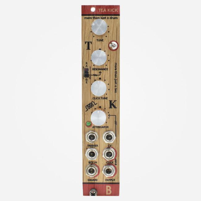 Bastl Instruments TEA KICK Eurorack Twin T Resonator 808 Kick Percussion Module