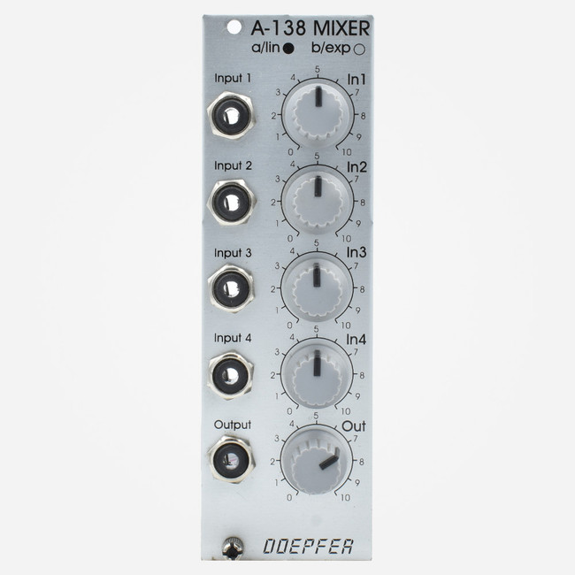 Used Doepfer A-138a Linear Mixer Eurorack Module