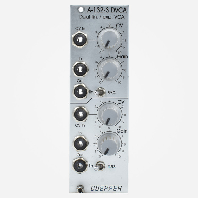 Used Doepfer A-132 DVCA Dual Linear/Exponential VCA Eurorack Module