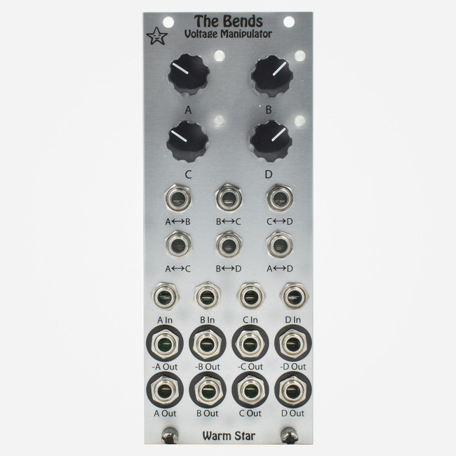 Warm Star THE BENDS Eurorack VC Averaging Mixer and Router Module
