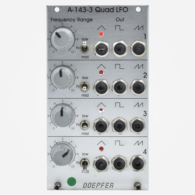 Used Deeper A-143-3 QUAD LFO Eurorack Module