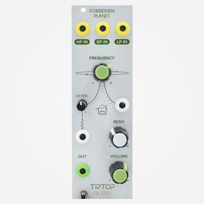 Tip Top Audio FORBIDDEN PLANET Eurorack Filter Module