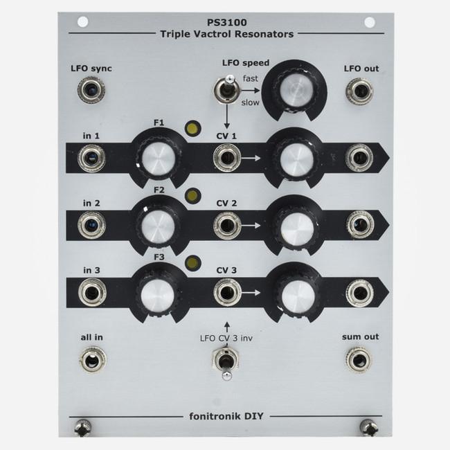 Used Fonitronik TRIPLE VACTROL RESONATOR Eurorack Module