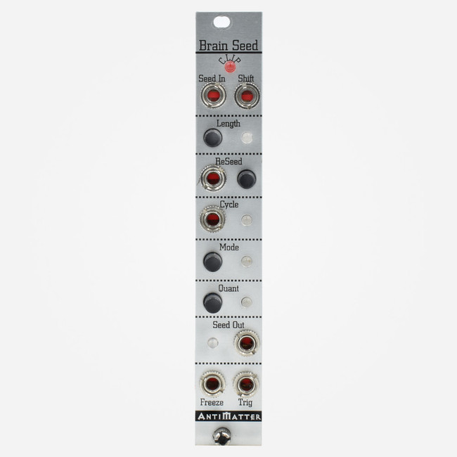 Used Antimatter Audio BRAINSEED Eurorack Shift Register and Random Sequencer Module