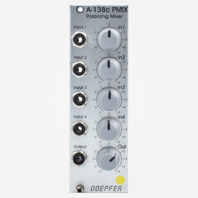 Doepfer A-138c Polarizing Mixer Eurorack Quad Bipolar Mixer Module