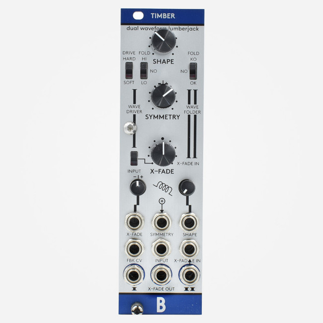 Bastl Instruments TIMBRE Eurorack Wavefolder and Saturation Module