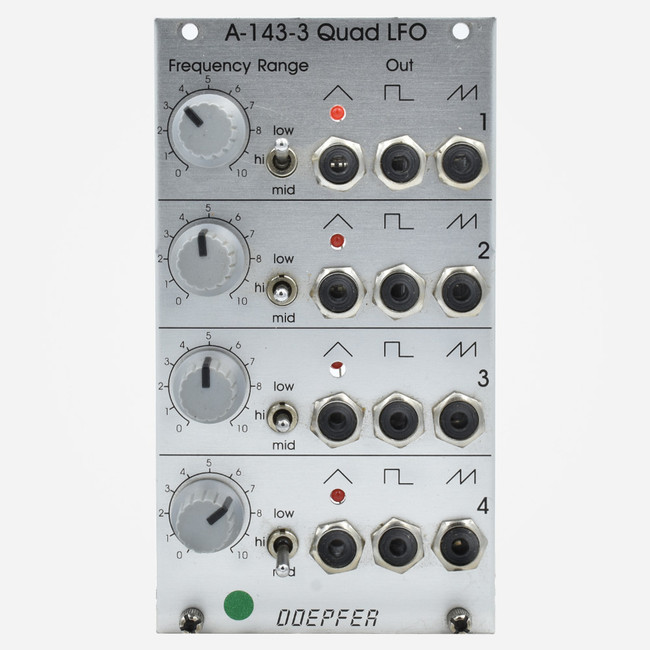Doepfer A-143-3 Quad LFO Eurorack Module