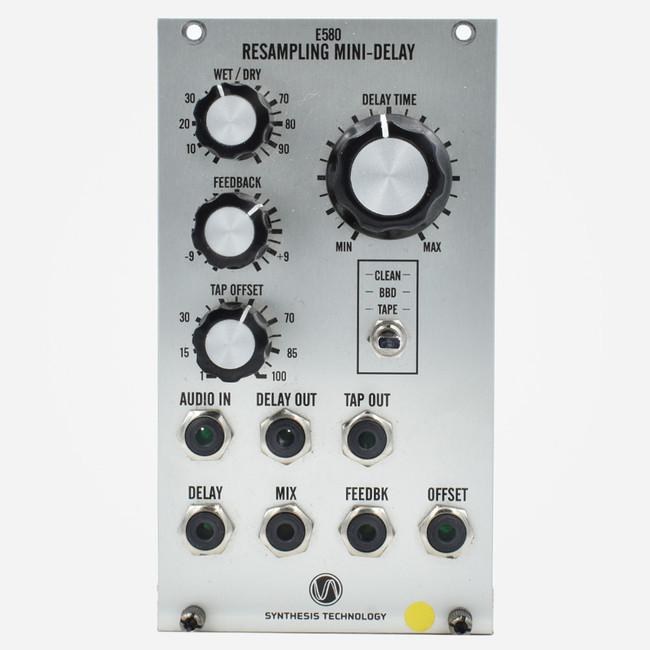 Used Synthesis Technology E580 Mini resampling delay Eurorack Multitap delay Module