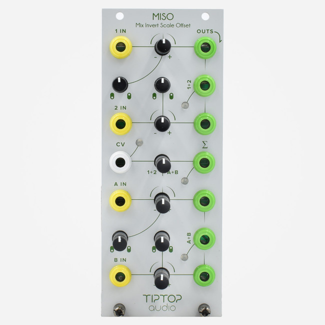 Tip Top Audio MISO Eurorack Mixer Scaler Offset Module