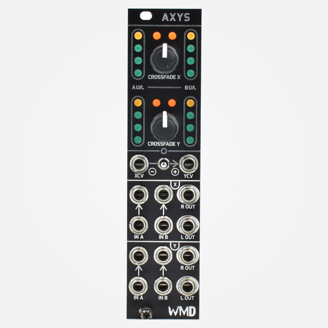 WMD AXYS Eurorack Dual Stereo Crossfader Module