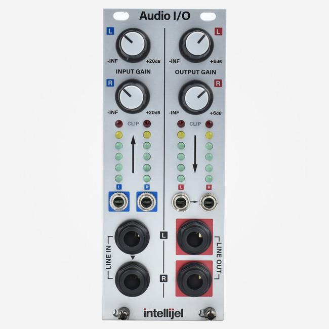 Intellijel Audio Interface II Eurorack Stereo Input Preamp and output Module