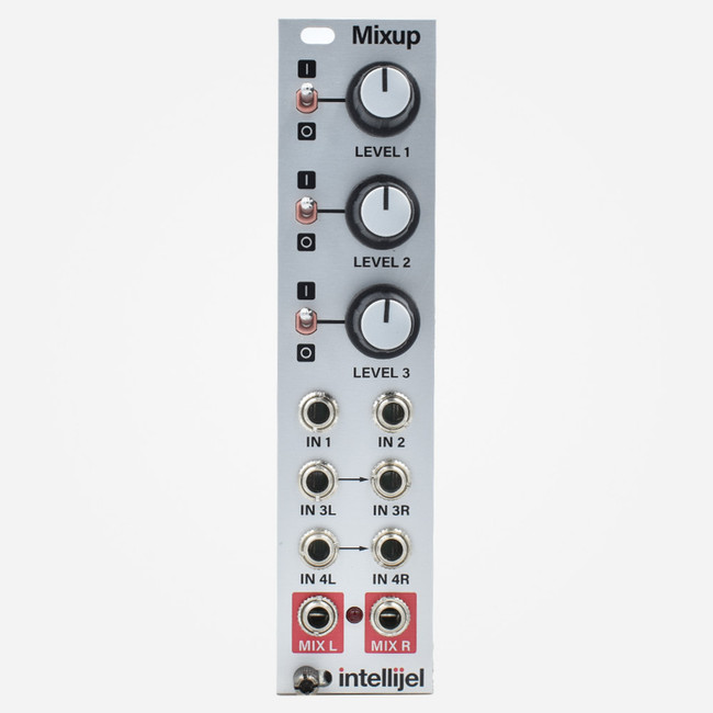 Intellijel MIXUP Eurorack Stereo Audio Mixer Module