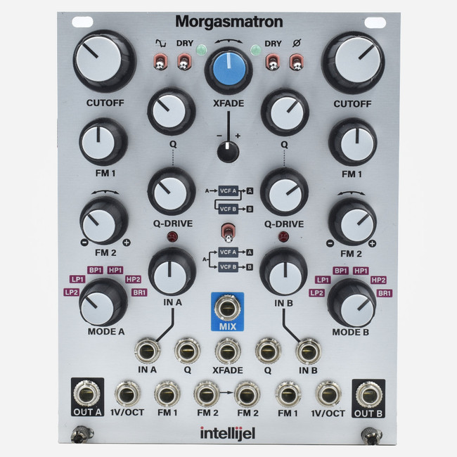Intellijel MORGASMATRON Eurorack Dual Multimode Korg MS-20 Filters