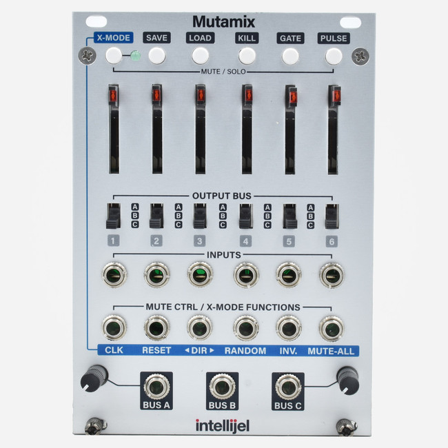 Intellijel MUTAMIX Eurorack Submixer with Preset Management Module