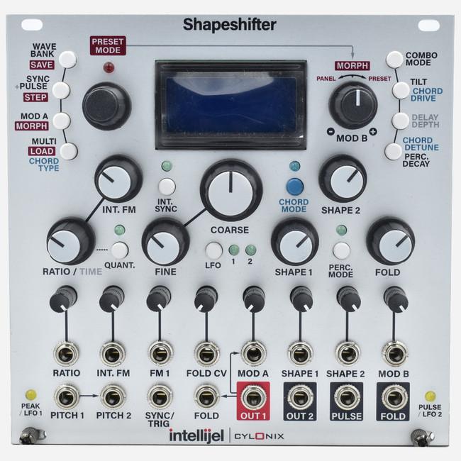Intellijel SHAPESHIFTER Eurorack Advanced Digital Dual Complex Wavetable Oscillator