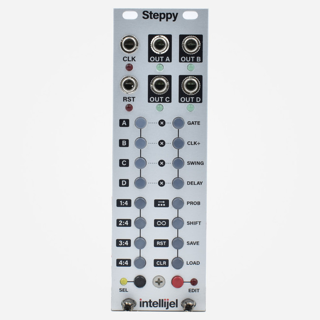 Intellijel STEPPY Eurorack Compact Trigger Sequencer Module