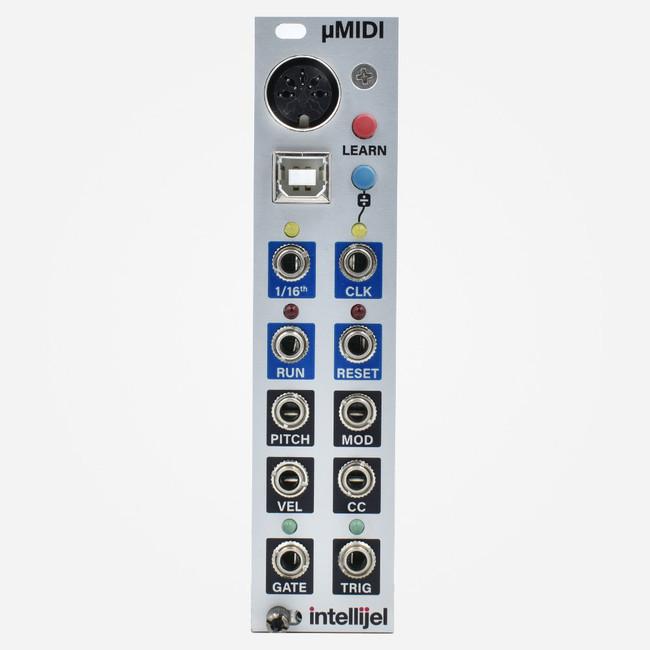 Intellijel UMIDI Eurorack USB and DIN MIDI to CV Module
