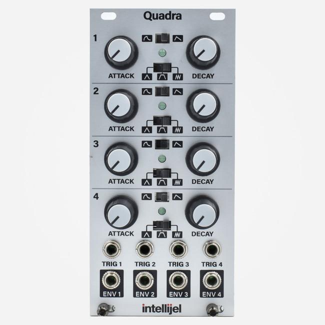 Intellijel QUADRA Eurorack Quad Cycling Envelope Generator Module