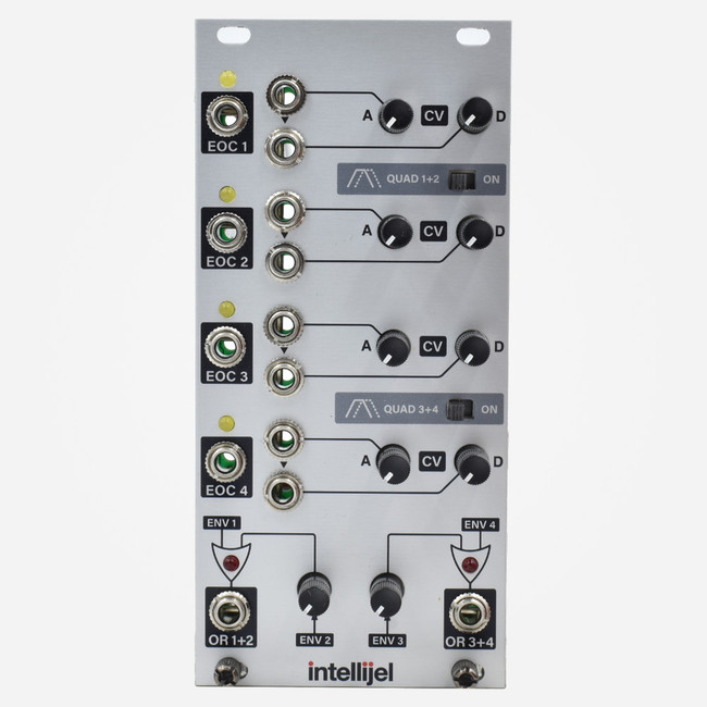 Intellijel Quadra Expander Eurorack Quad Cycling Envelope Generator with CV inputs
