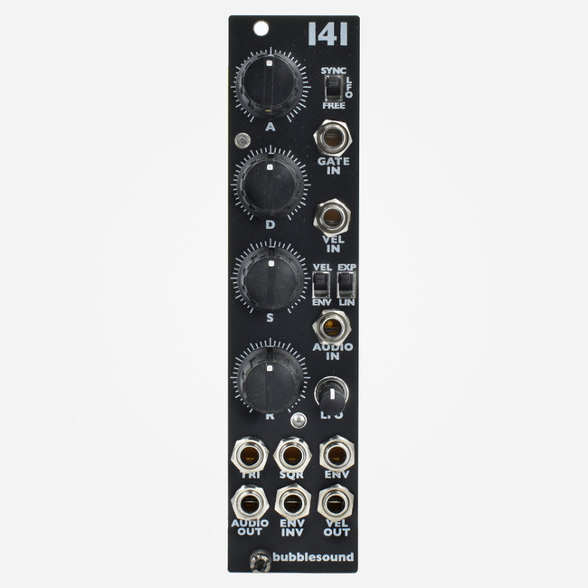 Bubblesound 141 Eurorack Combination ADSR VCA and LFO Module