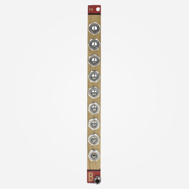 Bastl Instruments Passive Multiple Wood Panel Eurorack Splitter Module