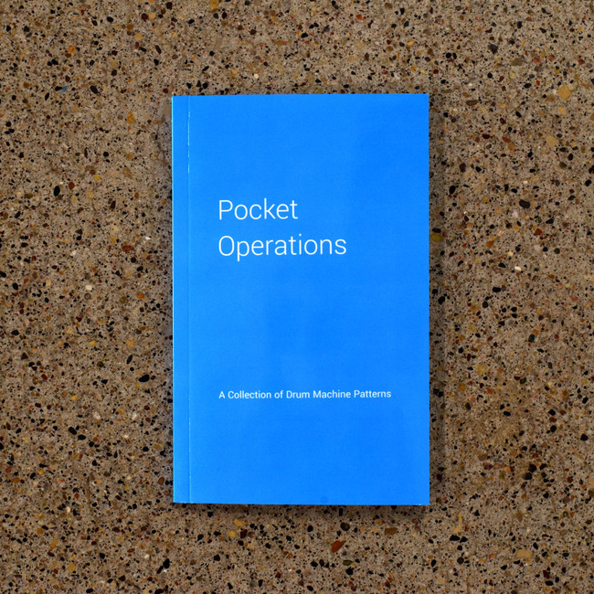 Pocket Operations Book by Paul Wenzel Book of Classic Drum Machine Patterns