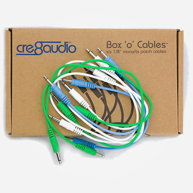 Cre8Audio Box O Cables Eurorack Patch Cable Pack