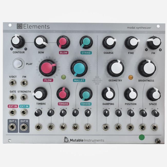 Used Mutable Instruments ELEMENTS Eurorack Physical Modeling Synthesizer