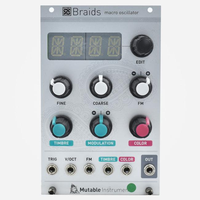 Used Mutable Instruments BRAIDS Eurorack Multi-mode Digital Oscillator Module