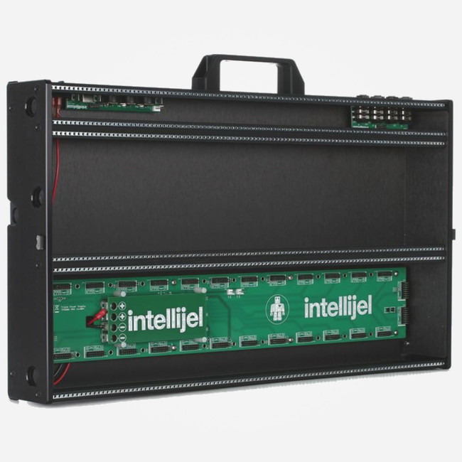 Intellijel Designs 7u 104hp Eurorack Performance Case (Stealth Black) Open