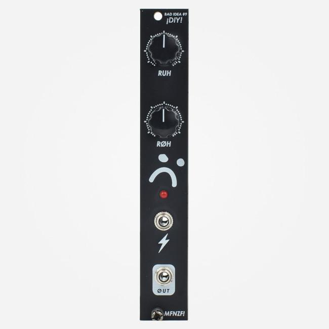 Moffenzeef Modular BAD IDEA #9 Eurorack Power Starved Glitch Oscillator Sound Source