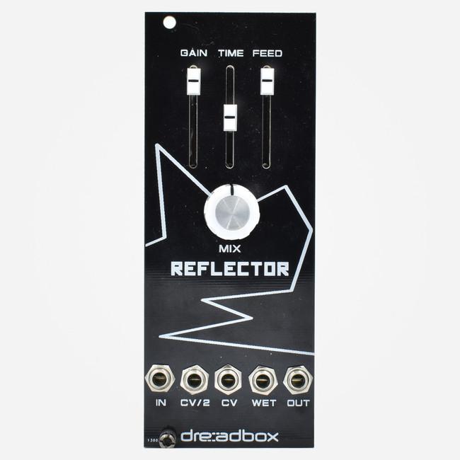 Used Dreadbox White Line REFLECTOR Eurorack BBD Delay Flange and Chorus Module
