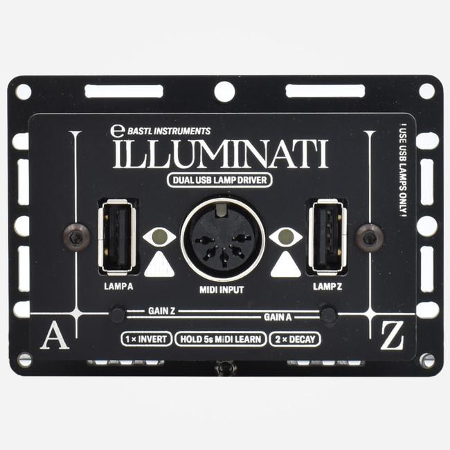 Bastl Instruments ILLUMINATI VC USB Lamp Driver Front