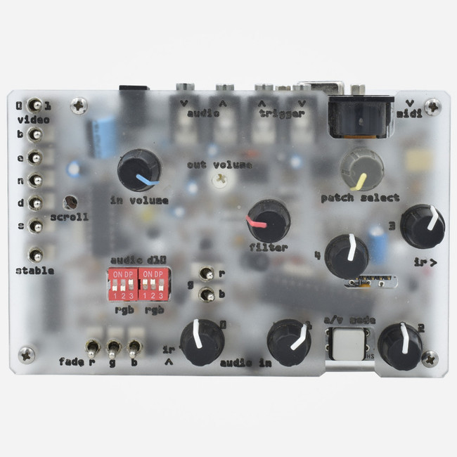 Used Gieskes Bleep Laps HSS3jb Audio and Video synthesizer FRONT