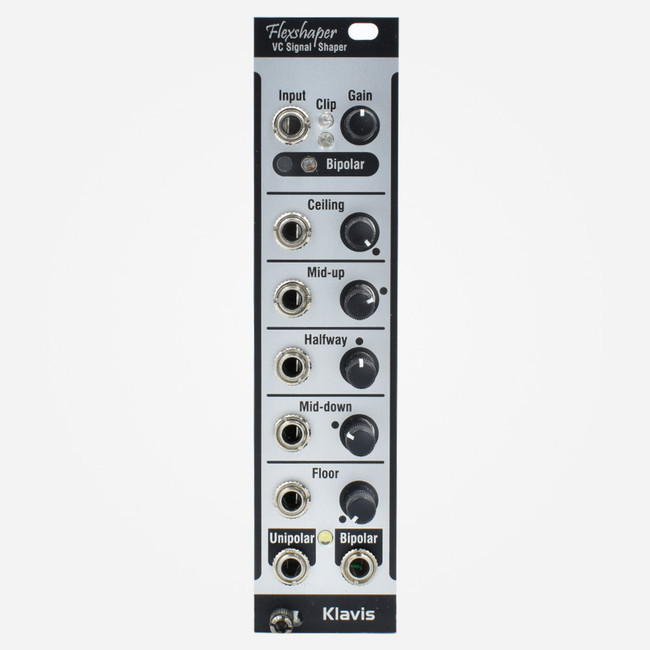 Klavis FLEXSHAPER Eurorack VC Waveshaper and CV Transfer Function Processor Module