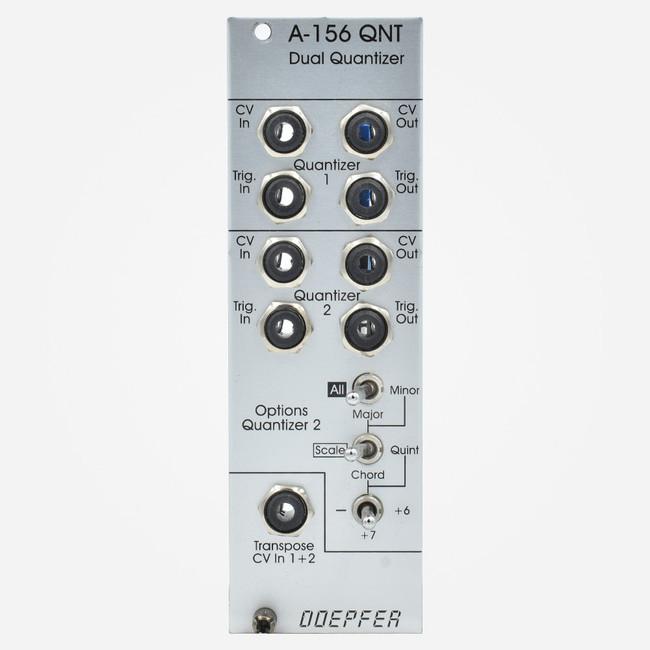 Used Doepfer A-156 DUAL QUANTIZER Eurorack Module